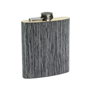 Wooden Flask - Grey Oak