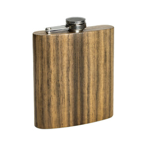 Wooden Flask - Walnut - Bug Wooden Accessories - 1