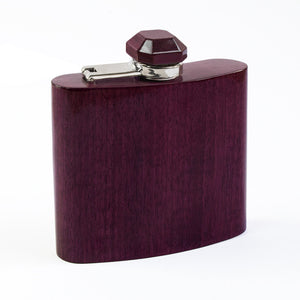 Wooden Flask - Gemstone