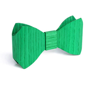 Bow Tie - Green - Bug Wooden Accessories - 2