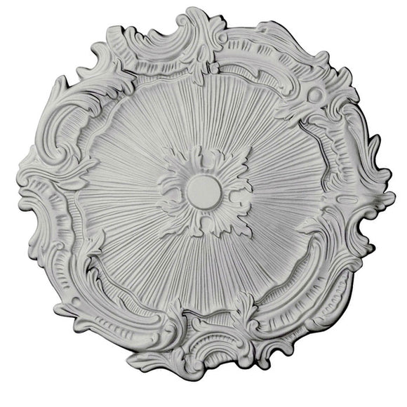 Farrah White Ceiling Medallion, 16.75