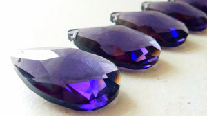 Amethyst Purple 38mm Teardrops Chandelier Crystals - ChandelierDesign