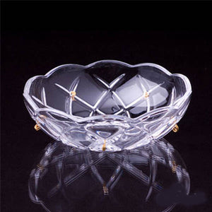 Clear Crystal Bobeche for Chandeliers Asfour Lead Crystal - ChandelierDesign