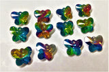Vitrail Rainbow Butterfly 14mm Beads Chandelier Crystals Prisms - ChandelierDesign