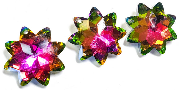 Vitrail Rainbow Star 38mm Chandelier Crystal Prism, Pack of 5 - ChandelierDesign
