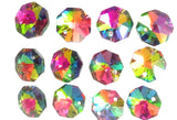 Vitrail Rainbow 14mm Octagon Beads Chandelier Crystals 2 Holes - ChandelierDesign