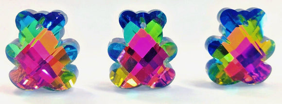 Vitrail Teddy Bear Chandelier Crystal Beads Pendants - ChandelierDesign