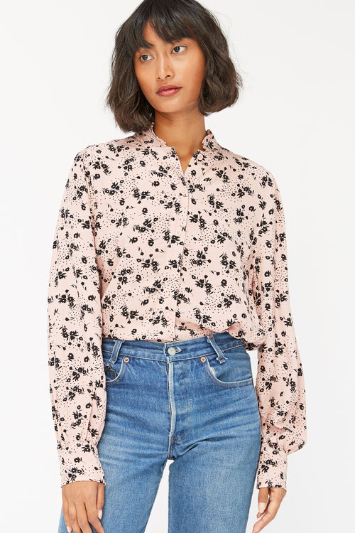 Georgette Raven Blouse