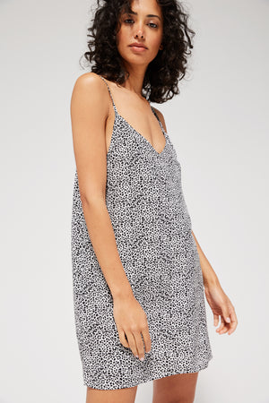 Printed Sissy Slip Dress