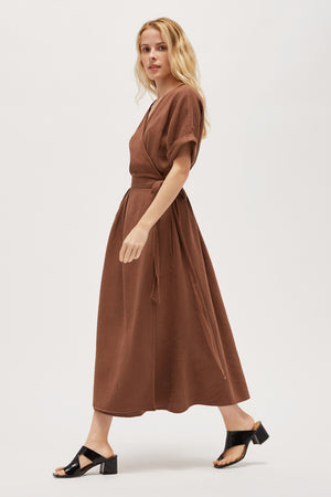 Herringbone Meadow Dress