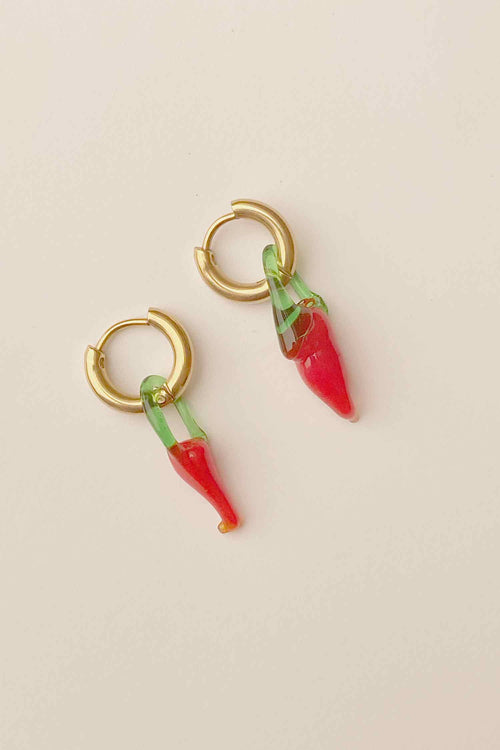 Baby Chili Earrings