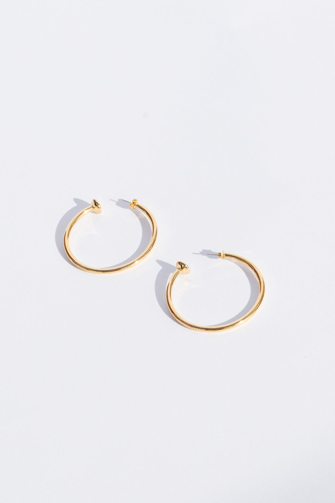 Vanessa Mooney Large Hoop Earrings