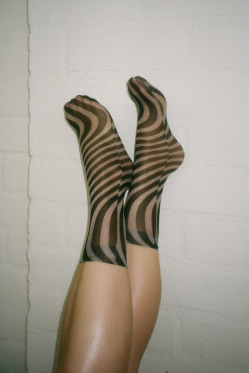 Sheer Stretch Limo Socks