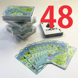 WHOLESALE :  MAP OF MICHIGAN PLAYING CARDS