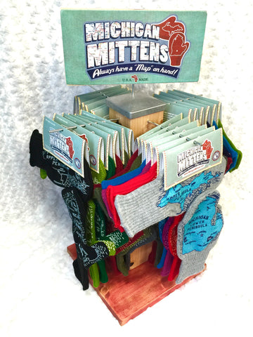 Stocked Mitten Display