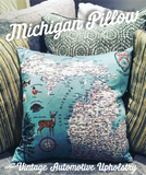 Handmade Michigan Pillow