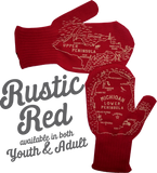 Wholesale Original YOUTH Michigan Mittens