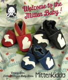 WHOLESALE MITTEN KIDDO - Soft Leather Baby Shoes