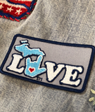 WHOLESALE  ILY Michigan Embroidery Patches