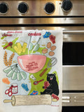 Tea Towel - Sugar Cookie Recipe + Mitten Cookie Cutter Set