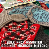 Bulk Pack- Assorted Michigan Mittens - SAVE MONEY!
