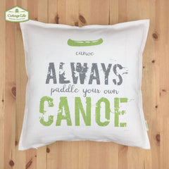 !!! New !!! COTTAGE LIFE - CANADIAN QUOTES - SKU: CQ1818JS01 - CANOE