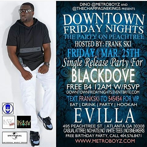 Friday Nights In Atl Single Release Party For Blackdove