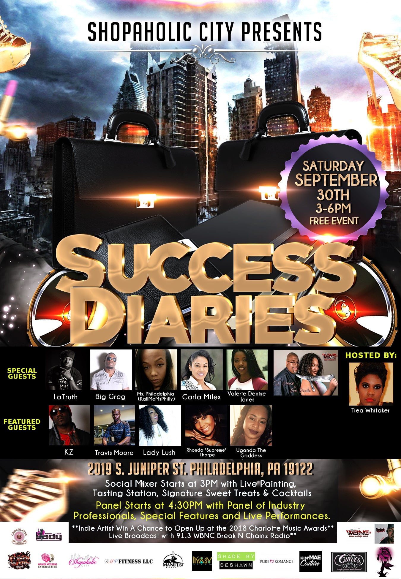Success Diaries Philly Edition (NEW DATE)