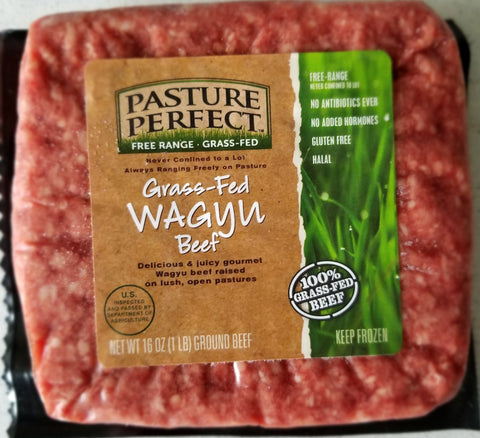 Grass Fed Wagyu Ground Beef - 10lbs
