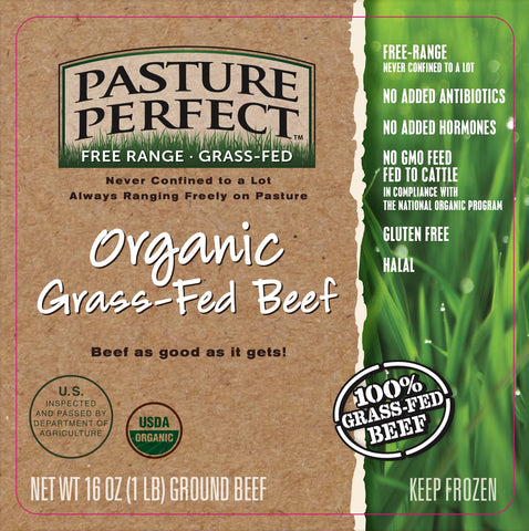 Organic Grass-Fed Ground Beef