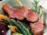 Grass Fed New Zealand Lamb Rack - 23lbs