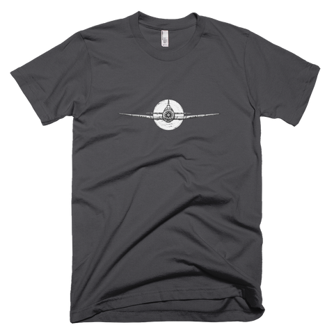 Plane T-Shirt - Dark Grey