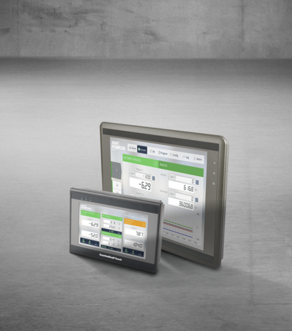 touch screen remote control for flexkraft switchmode rectifiers