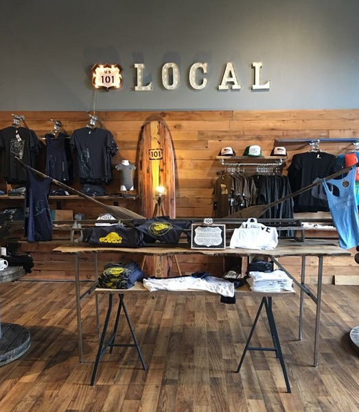 101 Local coastal clothing store newport, oregon