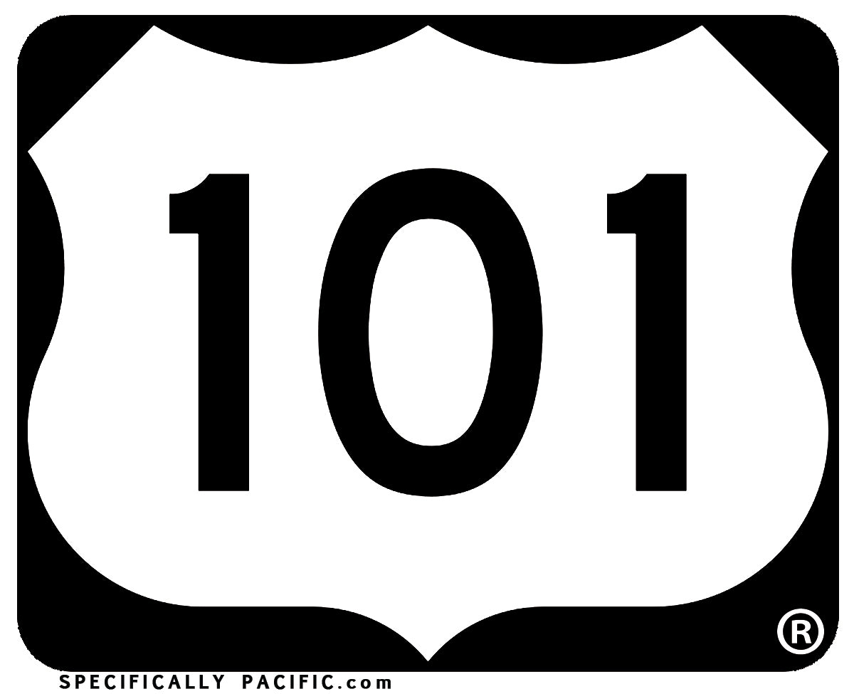 The 101 Sticker (3 PACK)
