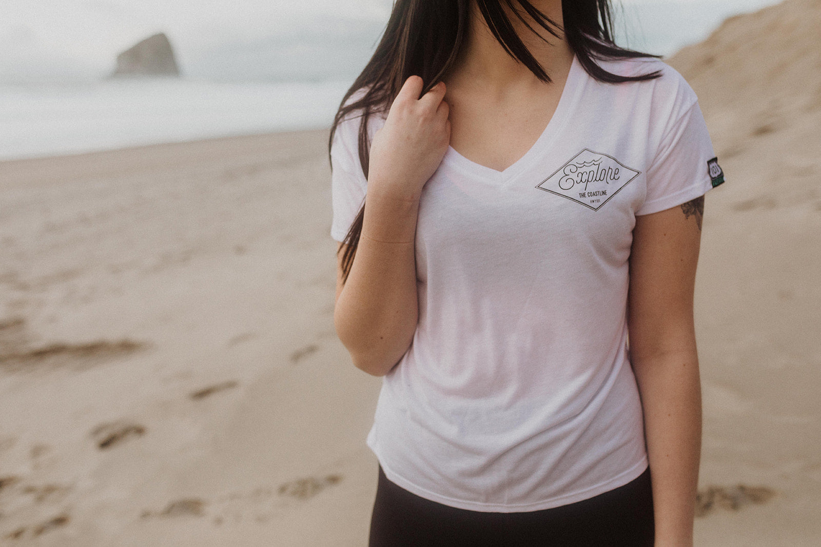 Explore The Coastline V-Neck