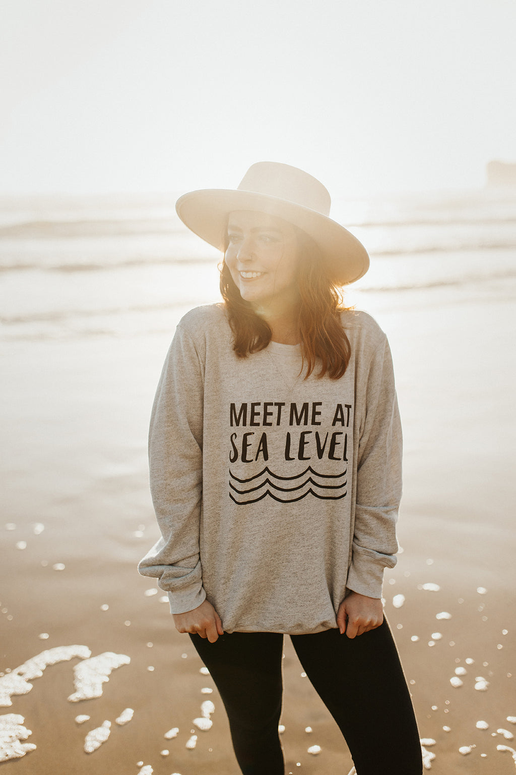 Meet Me At Sea Level Crewneck