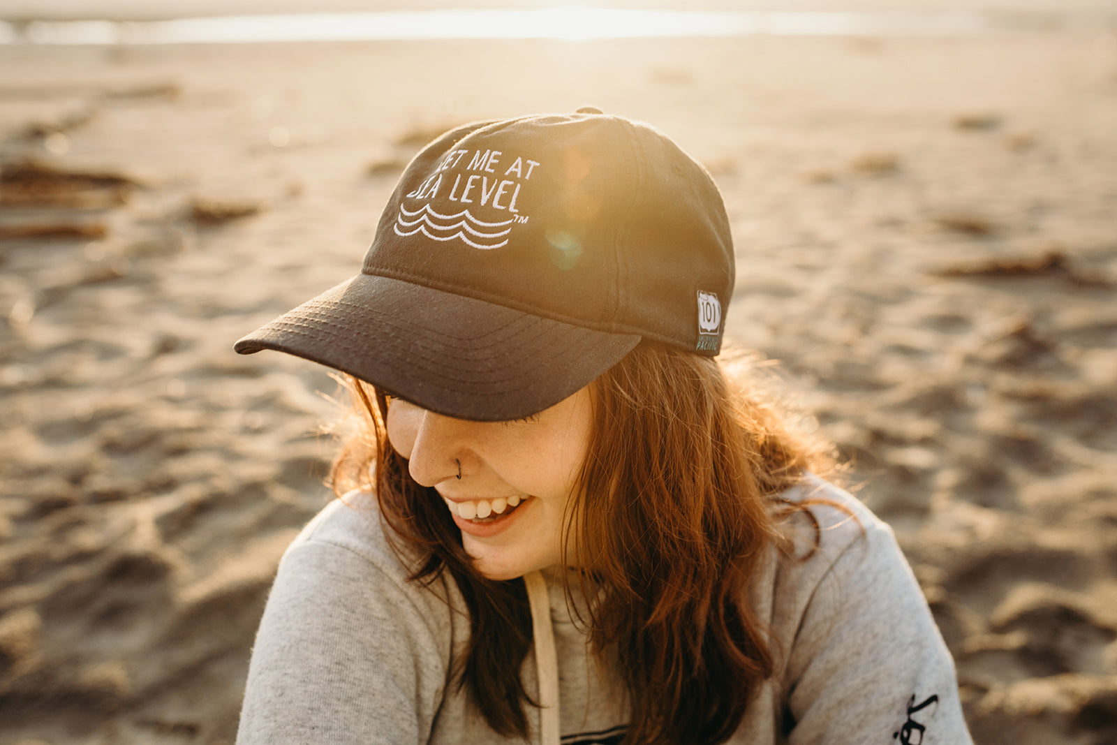 Meet Me At Sea Level Relaxed Dad Cap