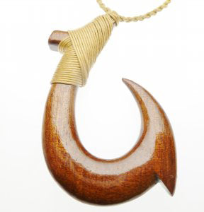 Hawaiian Fish Hook Necklaces