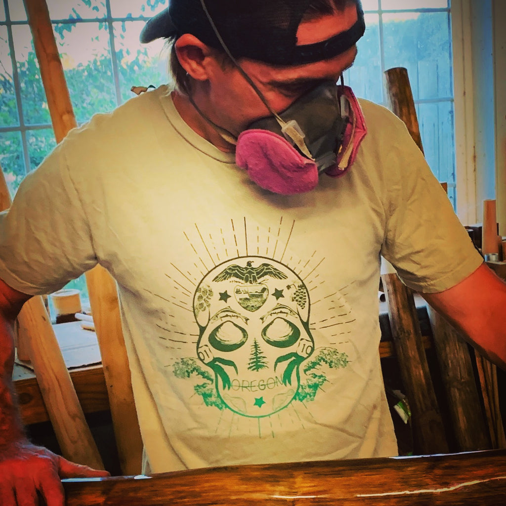 LIMITED EDITION Oregon Sugar Skull Tee