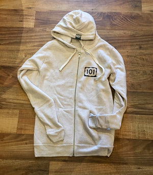 Oatmeal 101 Signature Zip Up