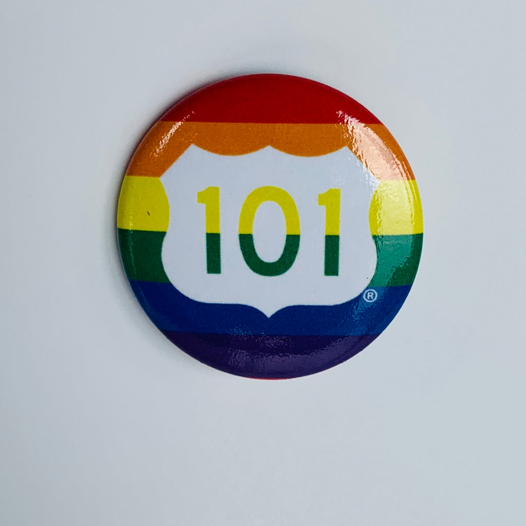 Rainbow 101 Button