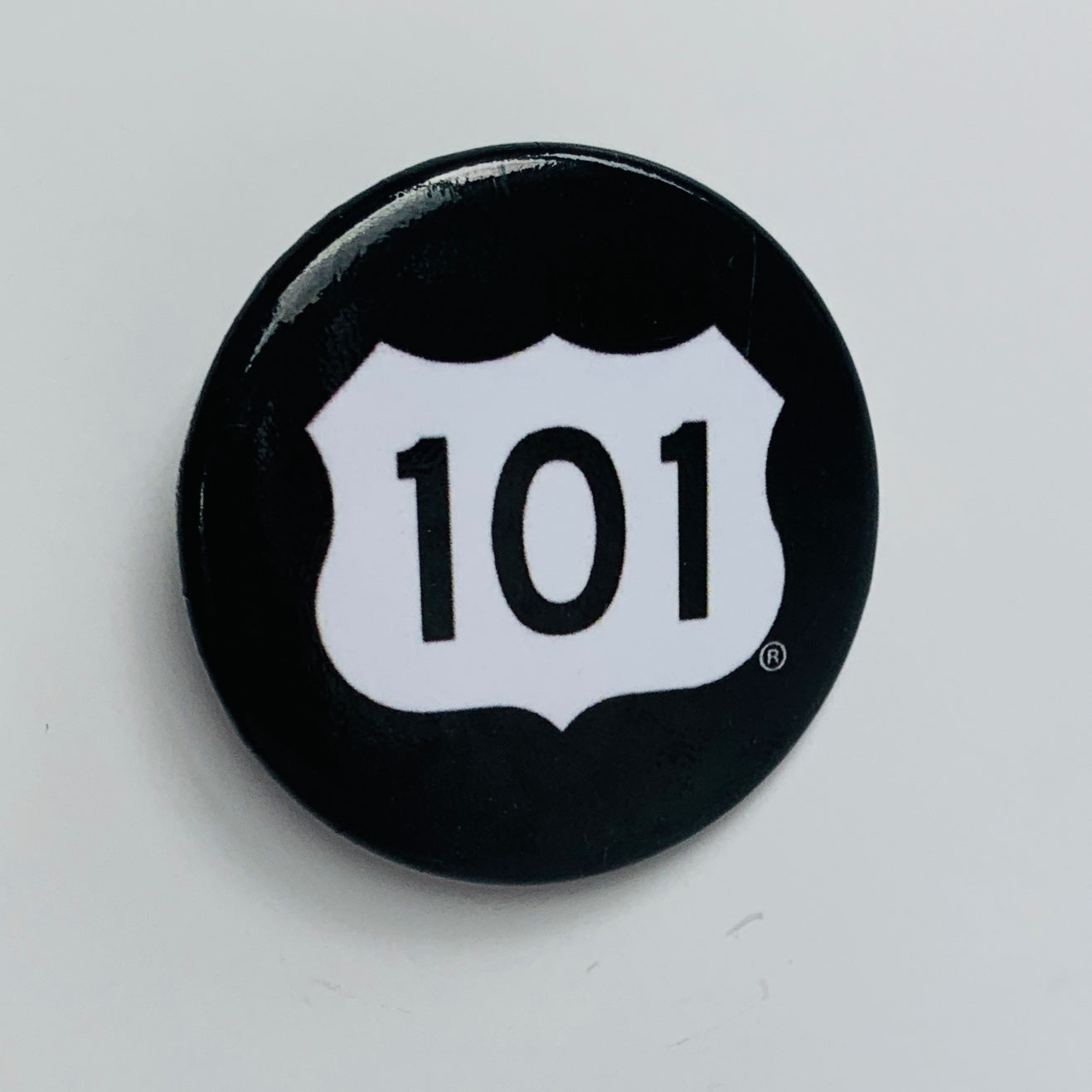 Black 101 Button