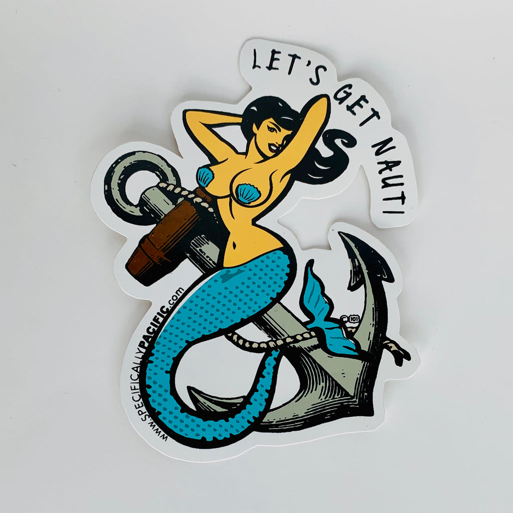 Mermaid Diecut Sticker