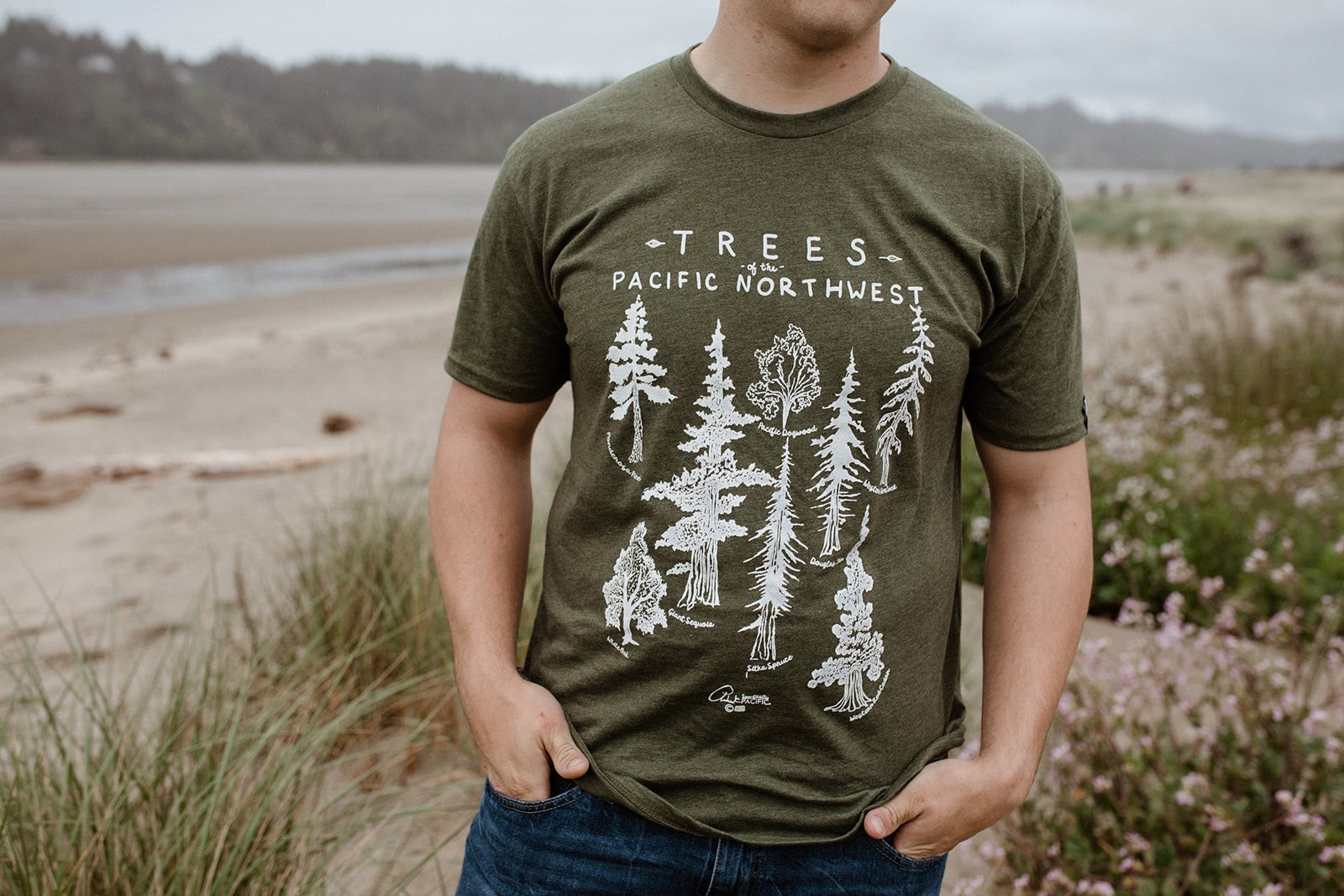 Trees of the Pacific Northwest Tee
