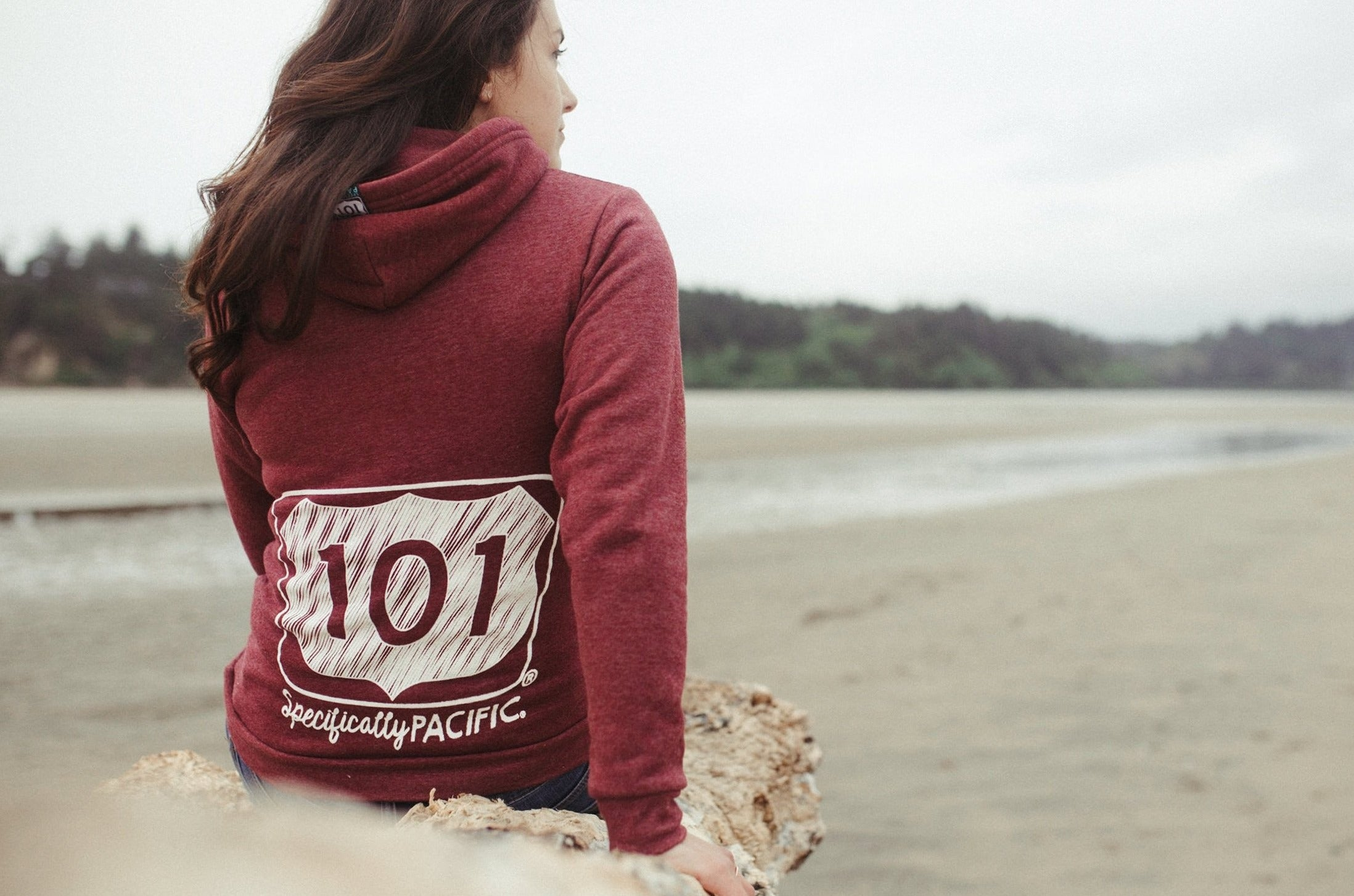 Burgundy 101 Local Pullover