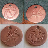 Custom Copper Pendants