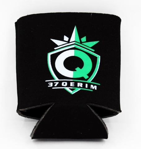 37Q SWAG Green logo drink Koozie