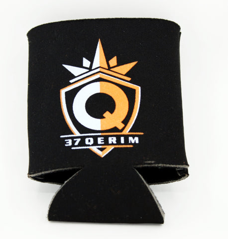 37Q SWAG Orange logo drink Koozie