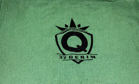 37Q SWAG 13x13 Shop Towel in Green with logo